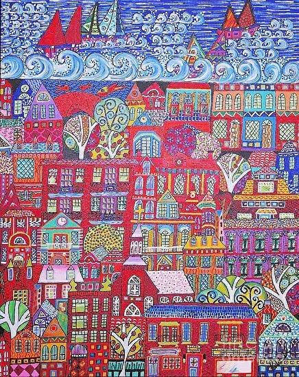Lakewood Painted Debra Purcell