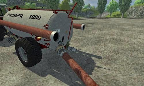 Farming simulator 2013 - Kirchner 3000l slurry tanker v 1.0