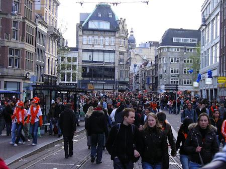 Amsterdam celebrating