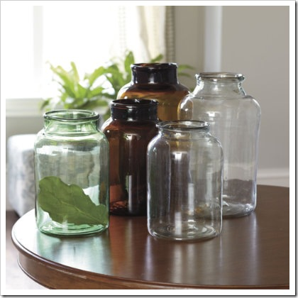 Recycled Glass Mason Jars