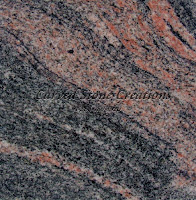 Multicolor Polished Granite Sample