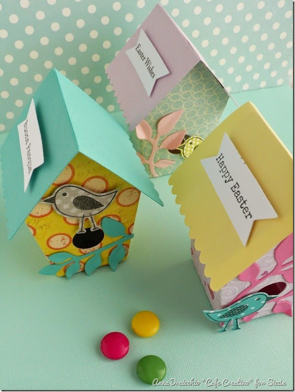 cafe creativo - big shot - easter box birdhouse - pasqua (2)