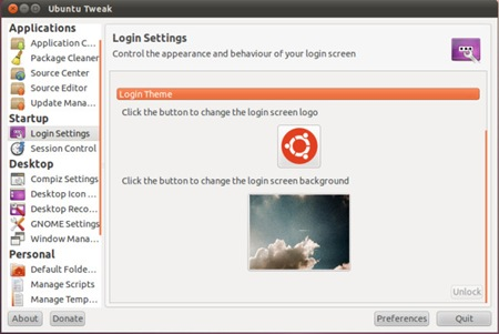 Mengubah/Mengganti Tampilan Logon Screen di Ubuntu