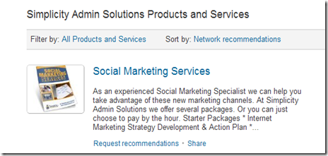 Linkedin Company pages1