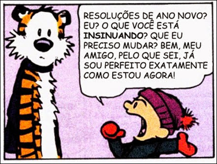 calvin hobbes new years resolutions resoluções de ano novo