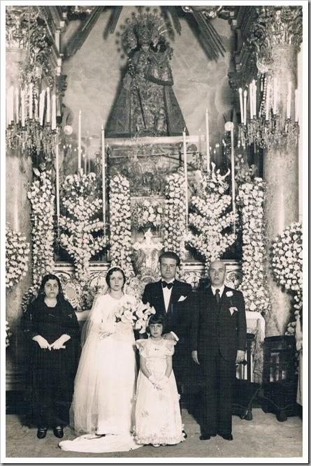 cAMPANAS DE BODA_Boda en la Basílica Virgen Desamparados. 1941