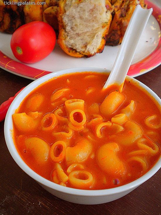 Tomato Pasta Soup