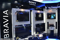 Sony Bravia Theatre showroom in Sony Centre in Abreeza Mall