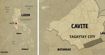 Tagaytay Location Map