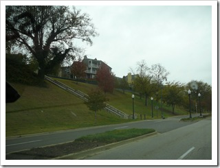 Big houses overlooking MS River in Memphis