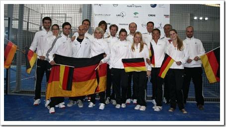 La Federación Alemana de Pádel (DPV) comienza a desarrollarse en diferentes eventos, el último: I Torneo Internacional en Estepona.