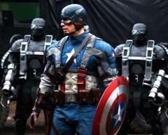 Jogo do Capitão América contra o mal