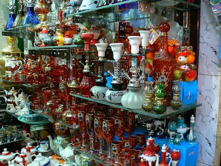 Souvenirs in Teheran bazaar