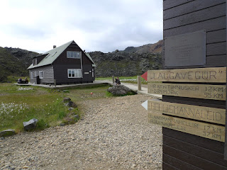 Landmannalaugar, le refuge