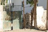 Hami - Portail maison près champs de melon