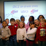WBFJ Cici's Pizza Pledge-Salem Baptist Church-Miss Williamson's 1st Grade Class-WS-11-7-12
