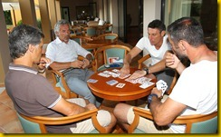 <<enter caption here>> at Geovillage Hotel on July 4, 2012 in Olbia, Italy.