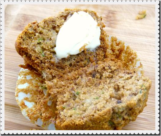 Warm muffin