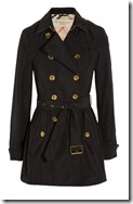 Burberry Brit Short Trench Coat