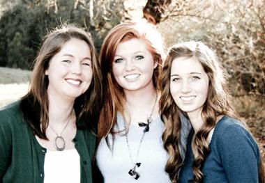 My Three Girls, Dec. 2011