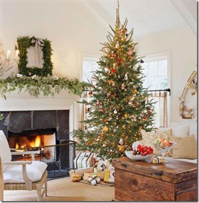 Como Decorar una Sala de Navidad5
