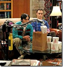 robot on Big Bang Theory