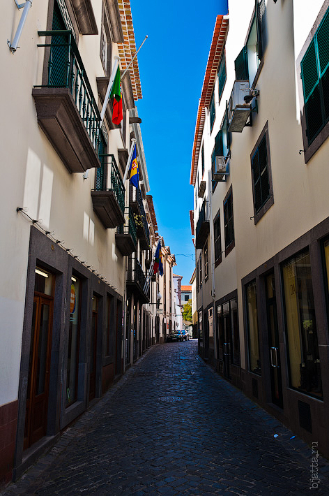 10. Фотопрогулка по улицам города. Улочки. Фуншал. Мадейра. Португалия. Круиз на Costa Concordia.