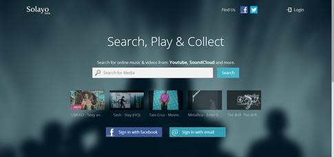 Solayo - buscar videos en Internet
