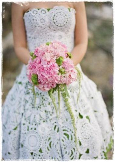 1 brudklänning