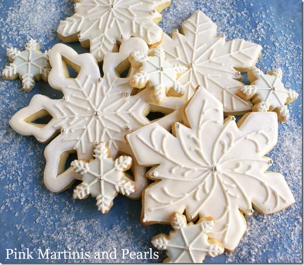 decorated snowflake cookies west elm