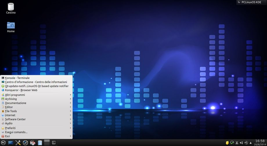 PCLinuxOS KDE