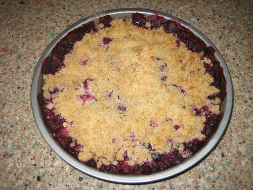 Crumble in the Round... delicious!!! Thanks Jill!