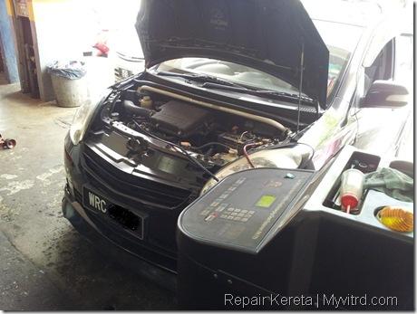 Repair aircond myvi 2