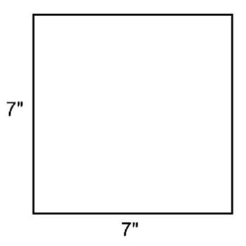 7 inch square