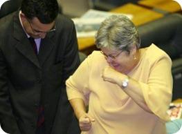 dança da deputada