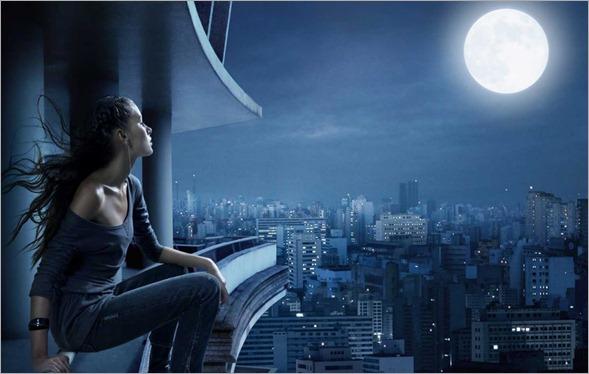 mirando la luna (1)