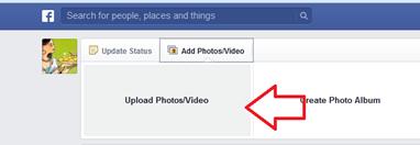 อัพโหลดวีดีโอใน Facebook