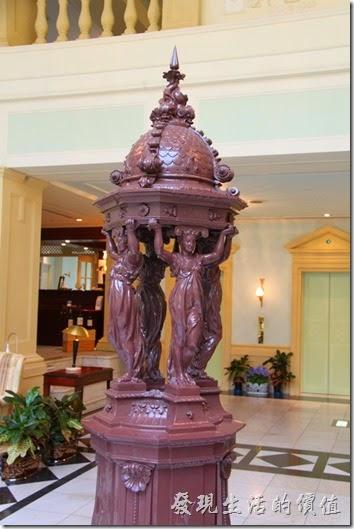 北九州-豪斯登堡-阿姆斯特丹大飯店。我記得這個好像是噴水池的造型。