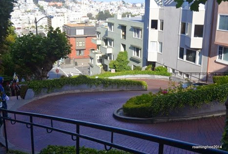 Lombard Street - the curviest street