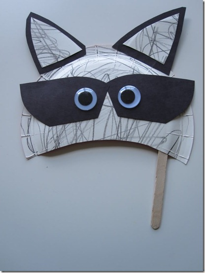 mascara mapache con plato blogcolorear (5)