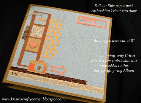 Kraft album_Balloon Ride_Artbooking_cover DSC_1228