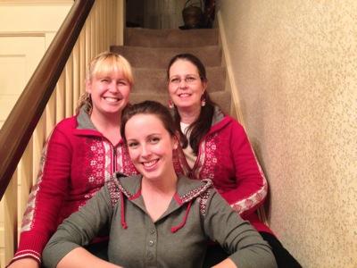 Margaret, Mamacita and Melinda