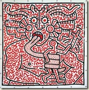 Keith Haring Untitled, 25 août 1983 Collection particulière, courtesy Enrico Navarra © Keith Haring Foundation
