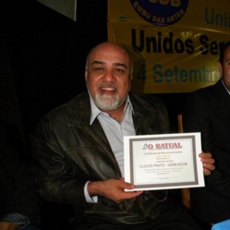 Troféu Ouro 2012 para o Ratualizado Clóvis Pinto de Itapecerica da Serra
