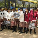 Mehdipatnam MNR School Students visit to orphanage