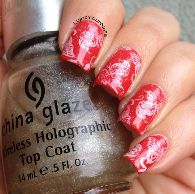Butterflies stamping with BP-07 from BornPrettyStore