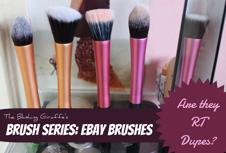 real technique dupes ebay brushes