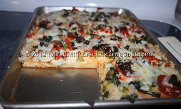 Easy Pizza - Gluten-Free   serving