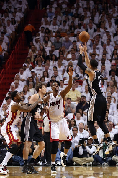 Wearing Brons San Antonio Spurs8217 Manu Ginobili amp Danny Green
