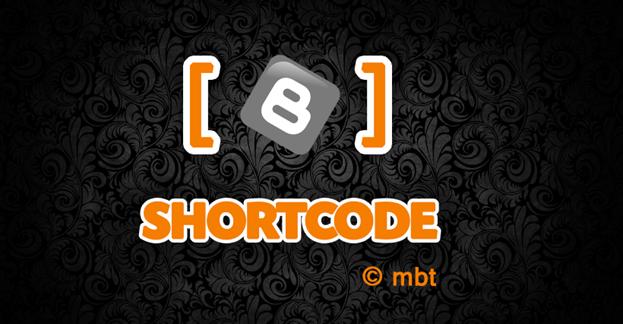 Blogger Shortcode Plugin